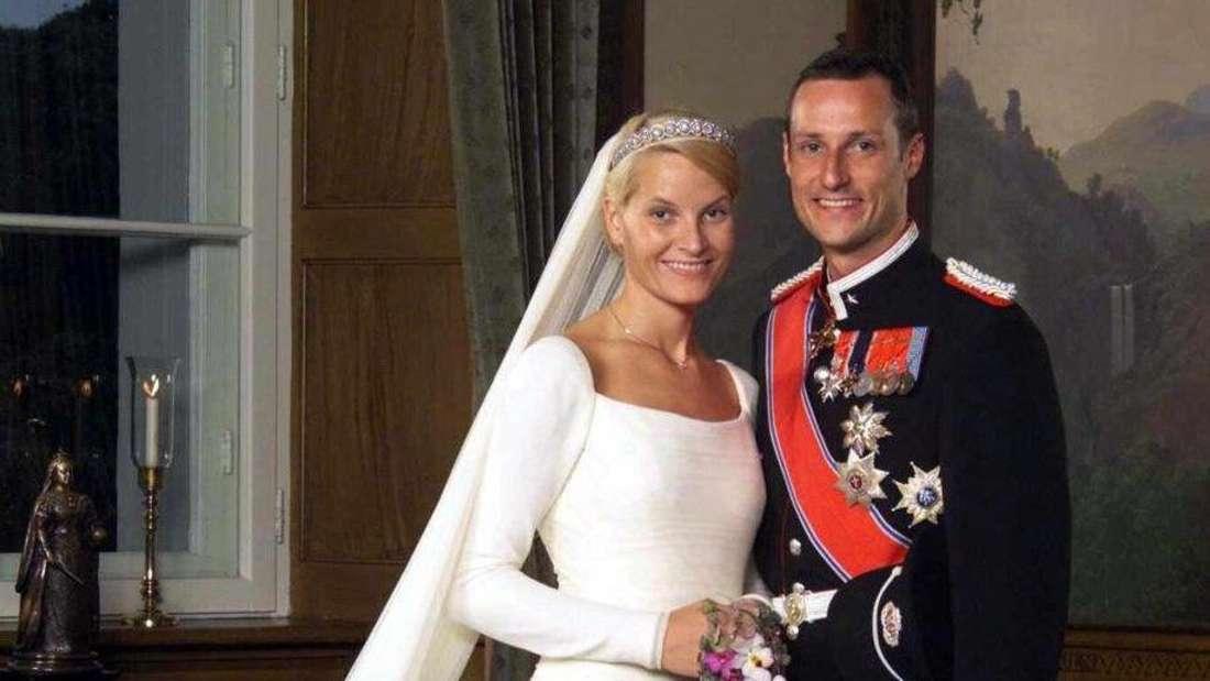 Hochzeitsfoto Mette-Marit und Haakon