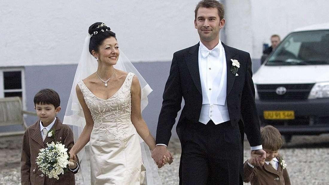 Prinzessin Alexandra bei ihrer zweiten Hochzeit
