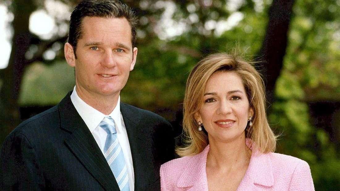 Die spanische Prinzessin Cristina und ihr Mann IñakiUrdangarin