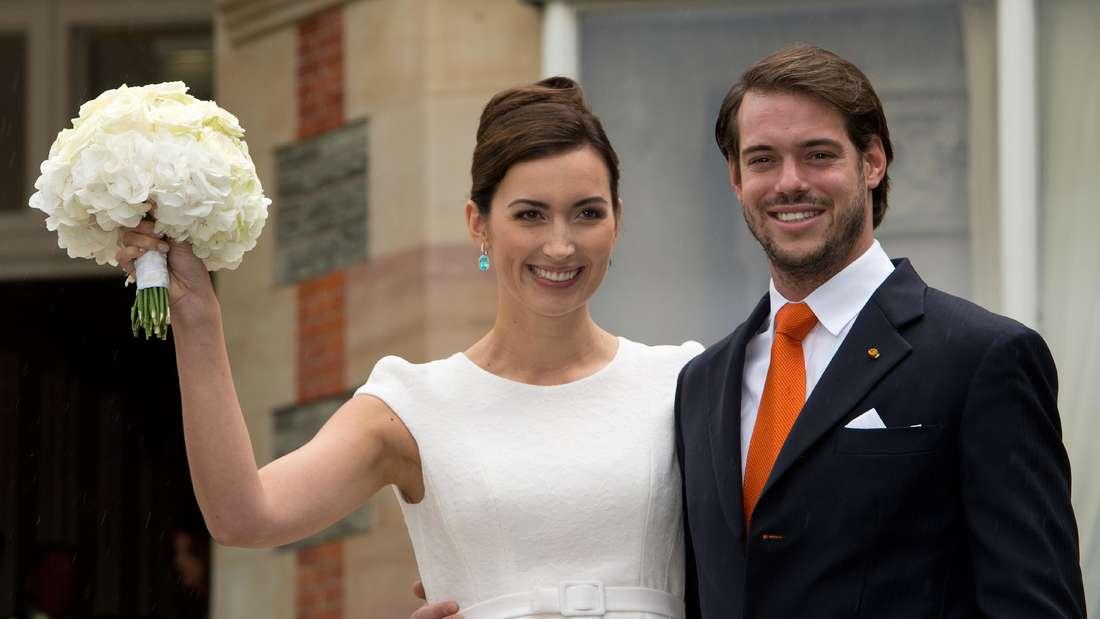 Félixvon Luxemburg heiratete 2013 seine Frau Claire.