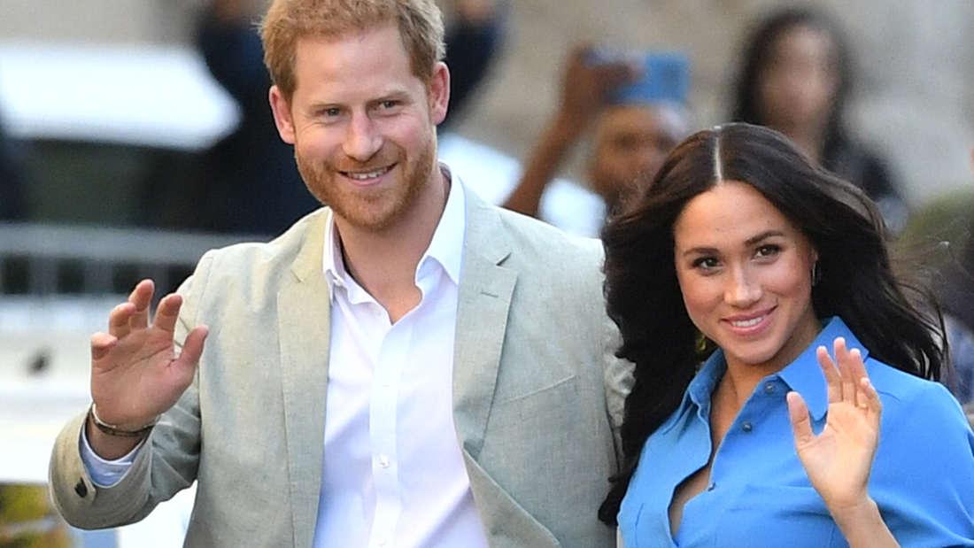 Prinz Harry und Herzogin Meghan beim Besuch des District Six Museum in Kapstadt 2019 (Symbolbild).