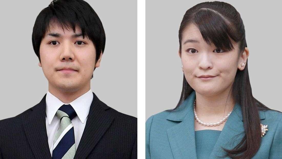 Prinzessin Mako und Kei Komuro. Das Paar soll diese Jahr noch heiraten.